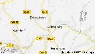Plan de Lutzelbourg
