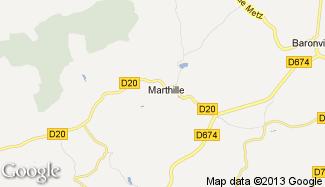Plan de Marthille
