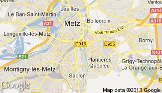 Plan de Metz