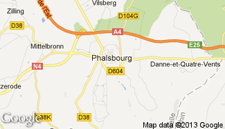 Plan de Phalsbourg