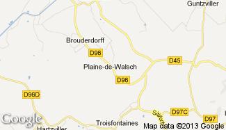 Plan de Plaine-de-Walsch
