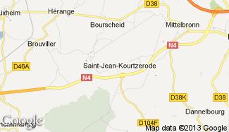 Plan de Saint-Jean-Kourtzerode