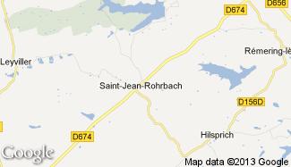 Plan de Saint-Jean-Rohrbach