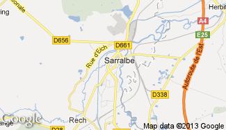 Plan de Sarralbe