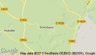 Plan de Schorbach