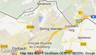 Plan de Stiring-Wendel