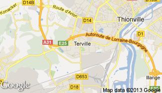 Plan de Terville
