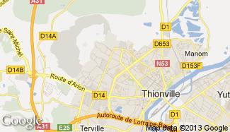 Plan de Thionville
