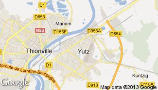 Plan de Yutz