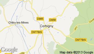 Plan de Corbigny