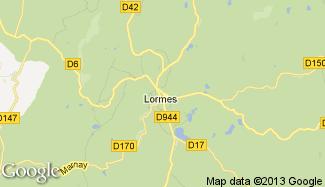 Plan de Lormes