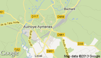 Plan de Aulnoye-Aymeries