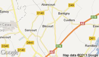 Plan de Blécourt