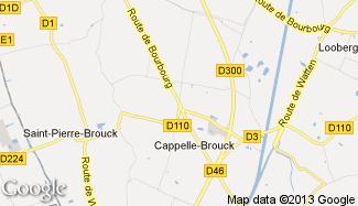 Plan de Cappelle-Brouck