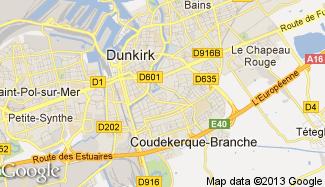 Plan de Coudekerque-Branche