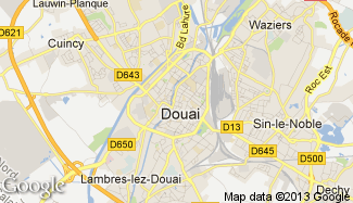 Plan de Douai