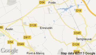 Plan de Ennevelin