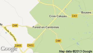 Plan de Forest-en-Cambrésis