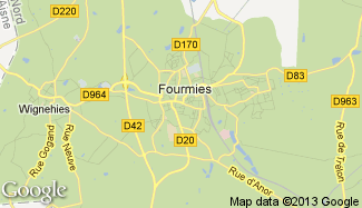 Plan de Fourmies