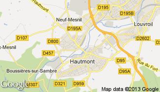 Plan de Hautmont
