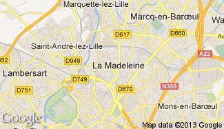 Plan de La Madeleine