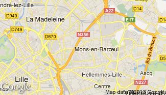 Plan de Mons-en-Baroeul