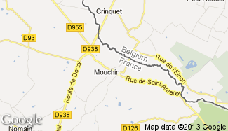 Plan de Mouchin