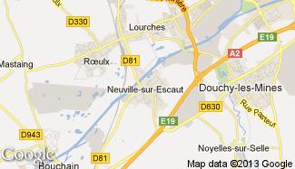 Plan de Neuville-sur-Escaut