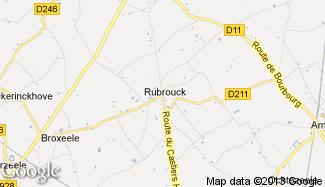 Plan de Rubrouck
