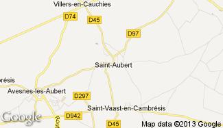 Plan de Saint-Aubert
