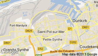 Plan de Saint-Pol-sur-Mer