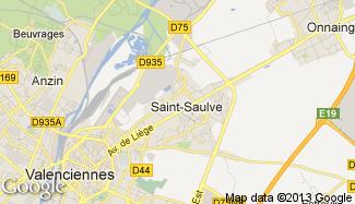 Plan de Saint-Saulve