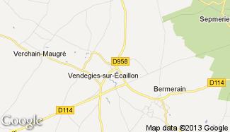 Plan de Vendegies-sur-Écaillon
