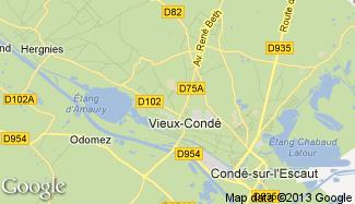 Plan de Vieux-Condé