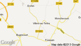 Plan de Villers-au-Tertre