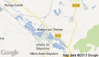 Plan de Bailleul-sur-Thérain