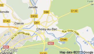 Plan de Choisy-au-Bac