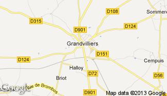 Plan de Grandvilliers
