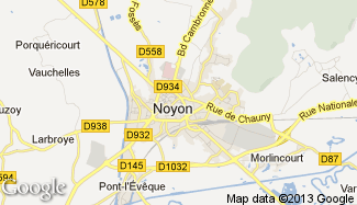 Plan de Noyon