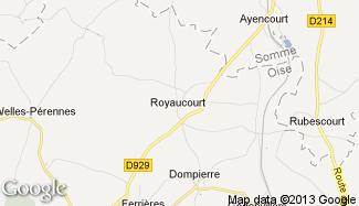 Plan de Royaucourt