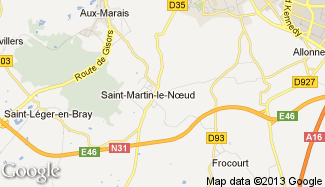Plan de Saint-Martin-le-Noeud