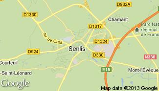 Plan de Senlis