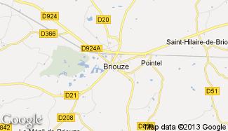 Plan de Briouze