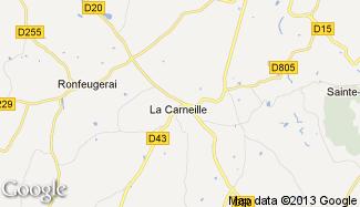 Plan de La Carneille