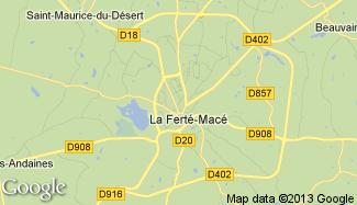 Plan de La Ferté-Macé