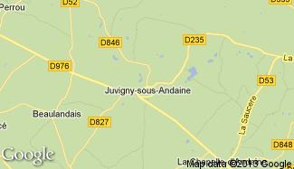 Plan de Juvigny-sous-Andaine