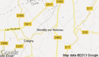 Plan de Montilly-sur-Noireau