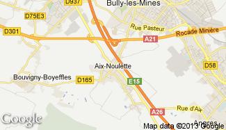 Plan de Aix-Noulette