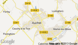 Plan de Auchel