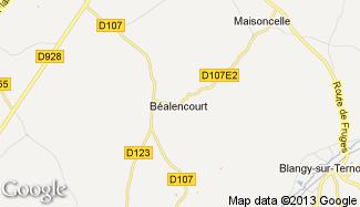 Plan de Béalencourt
